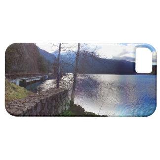 Parque nacional olímpico creciente del lago funda para iPhone SE/5/5s