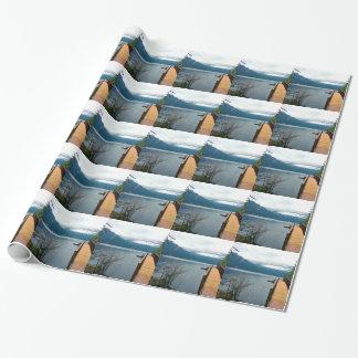 Parque nacional olímpico del cuenco de sacador de papel de regalo