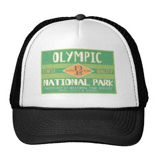 Parque nacional olímpico gorras de camionero