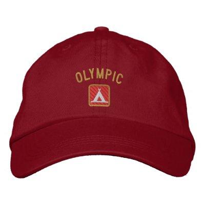 Parque nacional olímpico gorra de beisbol bordada