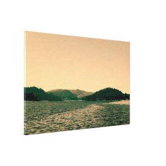 Parque nacional olímpico, paisaje de Seattle, los Impresión En Lienzo
