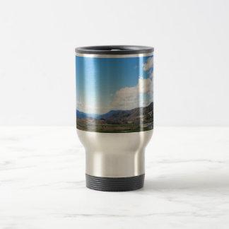 Parque nacional olímpico paisaje hermoso de los taza de café