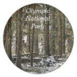 Parque nacional olímpico platos