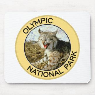 Parque nacional olímpico tapete de raton