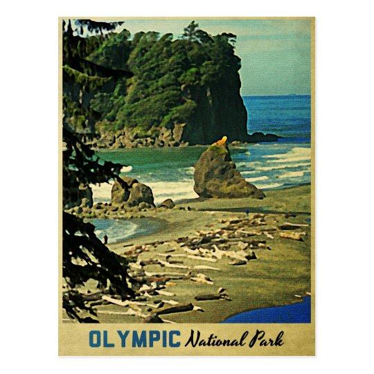 Parque nacional olímpico tarjetas postales