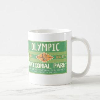 Parque nacional olímpico tazas de café