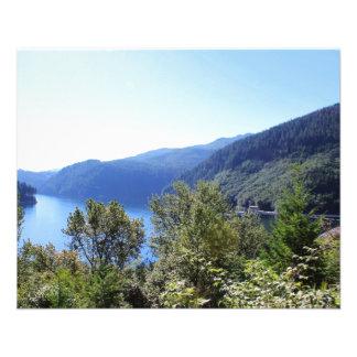 """Parque nacional, paisaje hermoso de Seattle, los Folleto 4.5"""" X 5.6"""""""