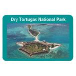 Parque nacional seco de Jefferson Tortugas del fue Imán Foto Rectangular