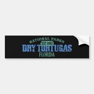 Parque nacional seco de Tortugas Pegatina Para Auto