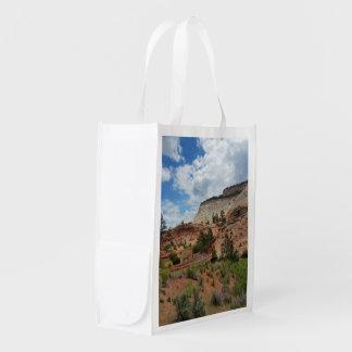 Parque nacional Utah de Zion de la roca pulida Bolsa Para La Compra