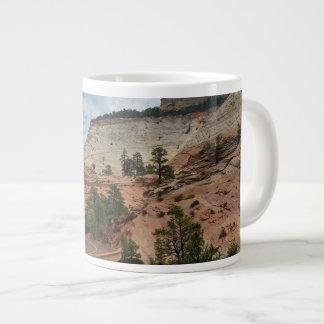 Parque nacional Utah de Zion de la roca pulida Taza Grande