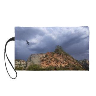 Parque nacional Utah de Zion del puesto de