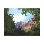 Parque nacional Utah de Zion Impresion En Lona