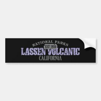 Parque nacional volcánico de Lassen Pegatina De Parachoque