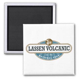 Parque nacional volcánico de Lassen Imán Cuadrado