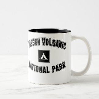 Parque nacional volcánico de Lassen Tazas