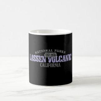 Parque nacional volcánico de Lassen Taza Básica Blanca