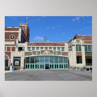 Parque NJ de Asbury del teatro/del teatro de Param Poster