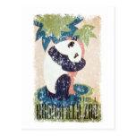 Parque-Panda de Brookfield apenada Tarjetas Postales