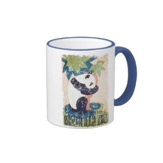Parque-Panda de Brookfield apenada Tazas De Café
