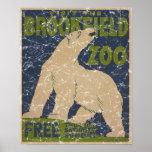 Parque-Polar de Brookfield Oso-apenado Posters