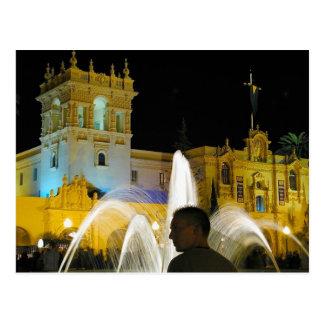 Parque Prado del balboa del agua de las fuentes de Tarjetas Postales