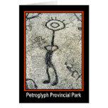 Parque provincial del petroglifo tarjetón