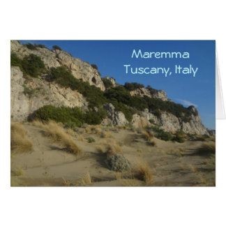 Parque regional Toscana Italia de Maremma Tarjeta De Felicitación