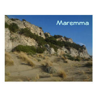 Parque regional Toscana Italia de Maremma Tarjetas Postales
