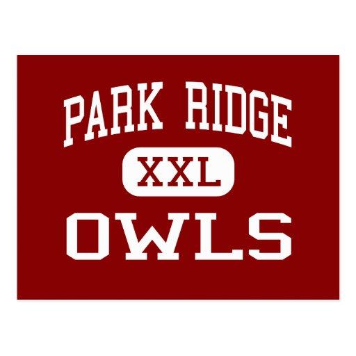 Parque Ridge - búhos - alto - parque Ridge New Postal