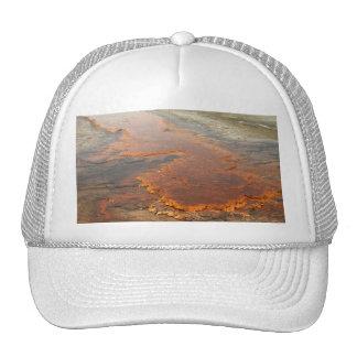Parque rojo de Yellowstone del agua mineral Gorra