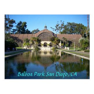 Parque San Diego, CA del balboa Tarjeta Postal