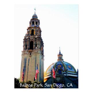 Parque San Diego, CA del balboa Postal