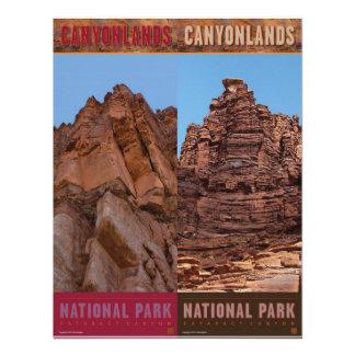 Parque-Señales del nacional de Canyonlands Invitación Personalizada