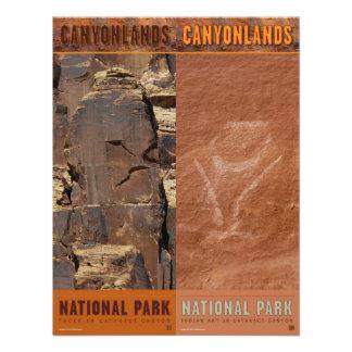 Parque-Señales del nacional de Canyonlands Anuncio Personalizado