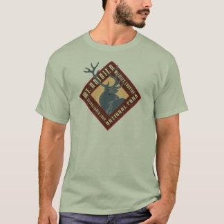 Parque-T-camisa del nacional del Monte Rainier Playera