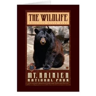 Parque-Tarjeta del nacional del Monte Rainier