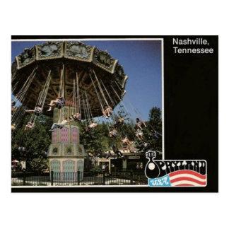 Parque temático de Opryland (Nashville, TN) Postal