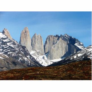 Parque Torres del Paine, Chile Cutout