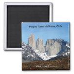 Parque Torres del Paine, Chile Refrigerator Magnets