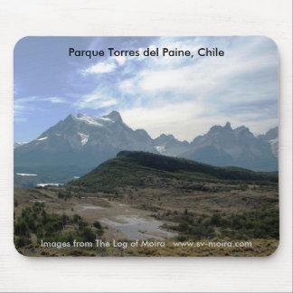 Parque Torres del Paine, Chile Mouse Pad