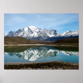 Parque Torres del Paine Chile Poster