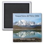 Parque Torres del Paine, Chile Refrigerator Magnet