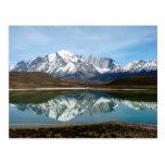 Parque Torres del Paine, Chile Tarjeta Postal