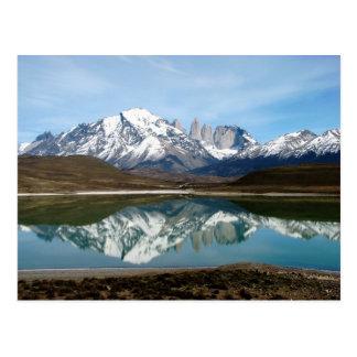 Parque Torres del Paine Chile Tarjeta Postal
