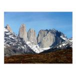 Parque Torres del Paine, Chile Tarjetas Postales