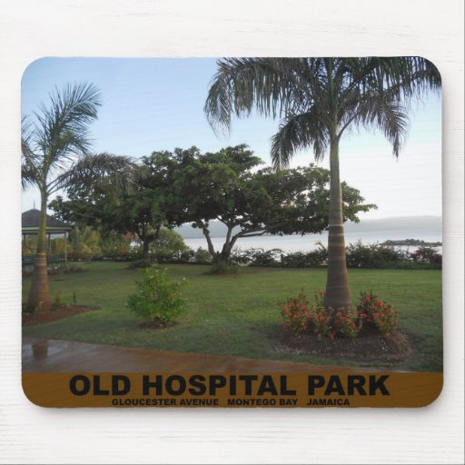 Parque viejo del hospital, Montego Bay Jamaica Tapete De Raton