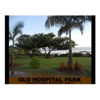 Parque viejo del hospital Montego Bay Jamaica Postal