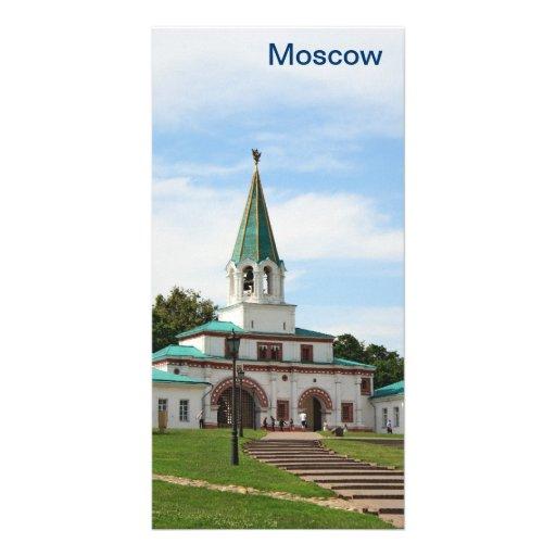 Parque y museo rusos Kolomenskoe Plantilla Para Tarjeta De Foto