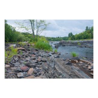 Parque y río de estado de Jay Cooke Impresión Fotográfica